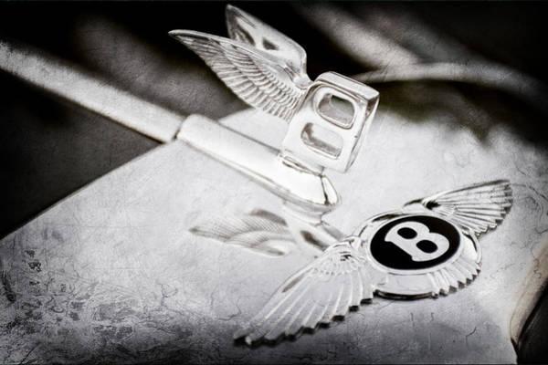 Photograph - Bentley Hood Ornament by Jill Reger