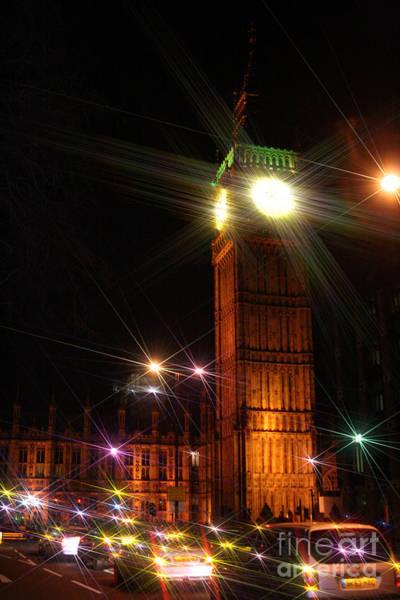 Photograph - Big Ben At Night by Doc Braham