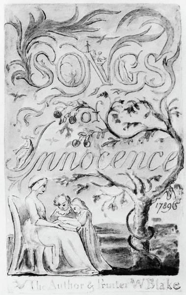 William Blake Drawing - Blake Songs Of Innocence by Granger