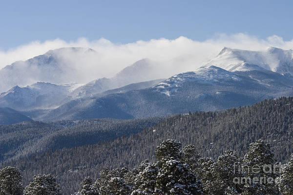 Wall Art - Photograph - Blizzard Peak by Steve Krull