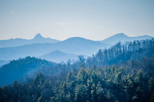Photograph - Blue Ridge Parkway Winter Scenes In February by Alex Grichenko