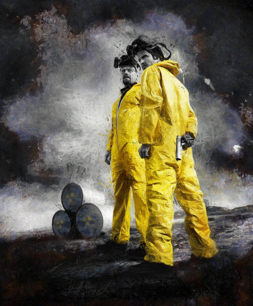 Tv Photograph - Breaking Bad by Ian Hufton