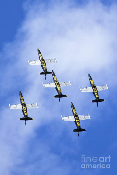 Wall Art - Photograph - Breitling Air Display Team by Nir Ben-Yosef