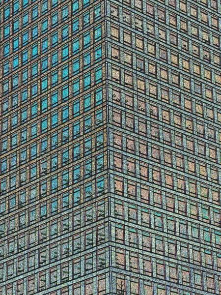 Wall Art - Digital Art - Canary Wharf London Art by David Pyatt