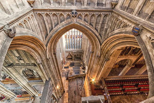 Wall Art - Photograph - Canterbury Cathedral by Ian Hufton