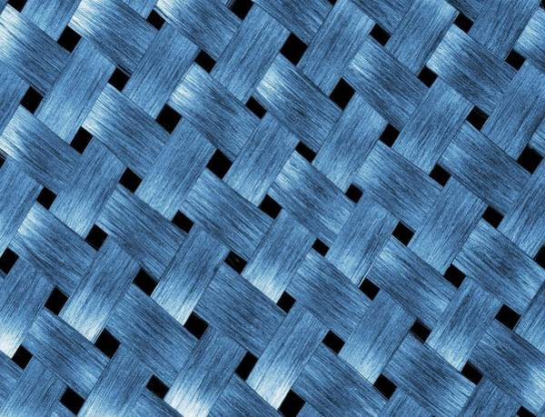 Carbon Fiber Photograph - Carbon Fibre Fabric by Alfred Pasieka