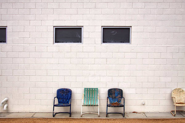 Wall Art - Photograph - Ace Chairs Palm Springs by William Dey