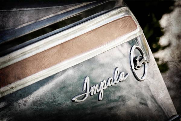 Impala Photograph - Chevrolet Impala Emblem by Jill Reger