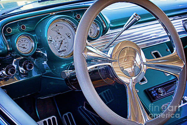 Online Art Gallery Photograph - Chevy 1957 Bel Air by Elena Nosyreva