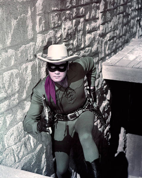 Clayton Photograph - Clayton Moore In The Lone Ranger by Silver Screen