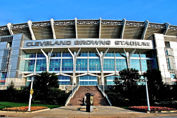 Baltimore Colts Photograph - Cleveland Browns Stadium by Frozen in Time Fine Art Photography