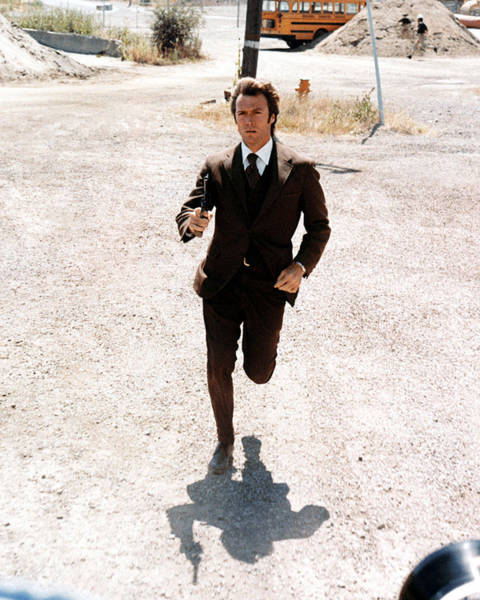 Wall Art - Photograph - Clint Eastwood In Dirty Harry  by Silver Screen