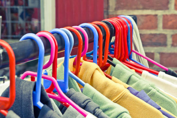 Hoodie Photograph - Colorful Tops by Tom Gowanlock