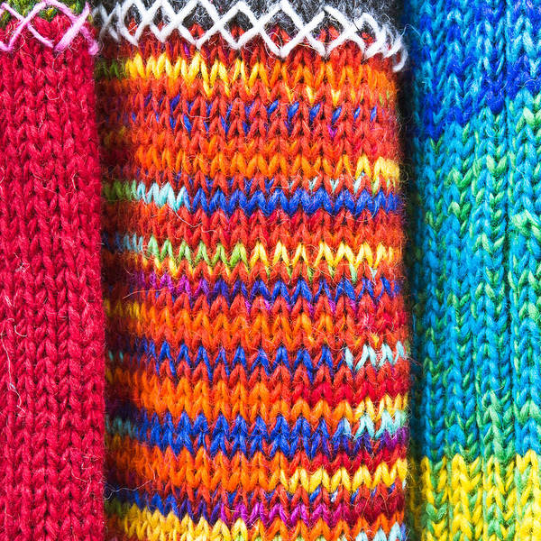 Wall Art - Photograph - Colorful Wool by Tom Gowanlock