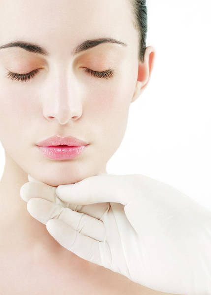 Examine Photograph - Cosmetic Surgery by Kate Jacobs/science Photo Library