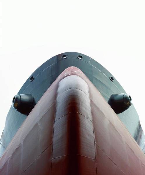 Dry Dock Photograph - Crude Oil Tanker by David Parker/science Photo Library