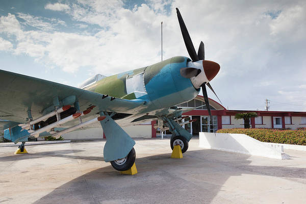 Hawker Sea Fury Photograph - Cuba, Matanzas Province, Playa Giron by Walter Bibikow