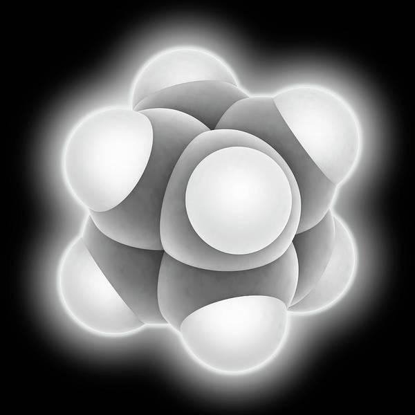 Cubic Wall Art - Photograph - Cubane Molecule by Laguna Design