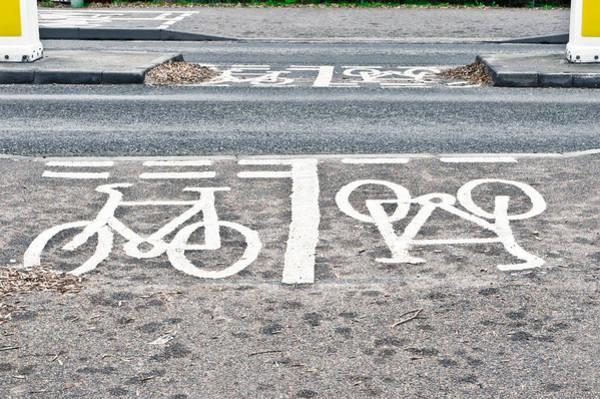 Texture Wall Art - Photograph - Cycle Path by Tom Gowanlock