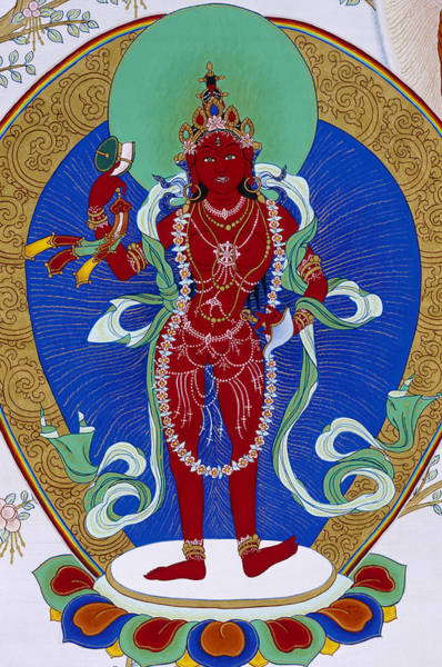Thangka Painting - Dechen Gyalmo by Suzy Greanias