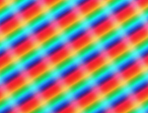 Photograph - Diffracted Light Pattern by Alfred Pasieka