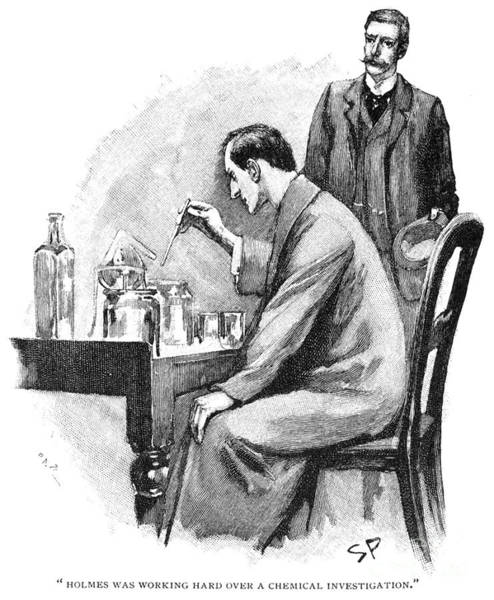 Turn Of The Century Photograph - Doyle: Sherlock Holmes by Granger