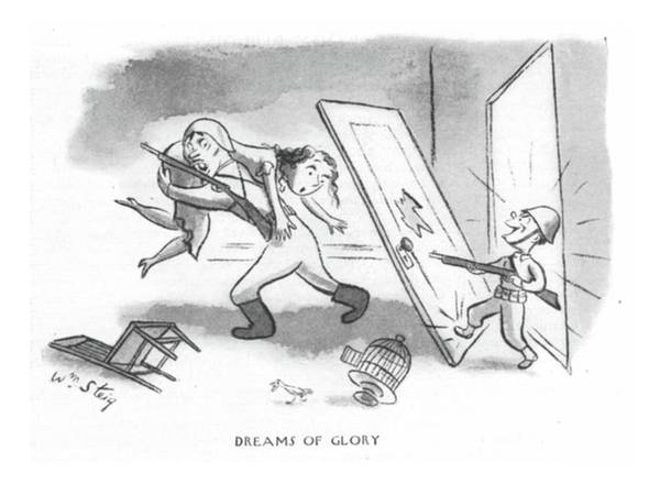 Saving Drawing - Dreams Of Glory by William Steig