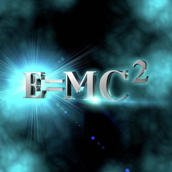 Mass-energy Equivalence Wall Art - Photograph - Einstein's Mass-energy Equation by Ventris / Science Photo Library