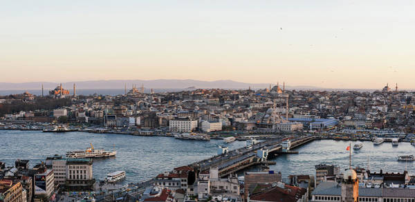 Galata Photograph - Elevated View Of Cityscape by Panoramic Images