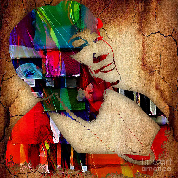 Wall Art - Mixed Media - Ella Fitzgerald Collection by Marvin Blaine