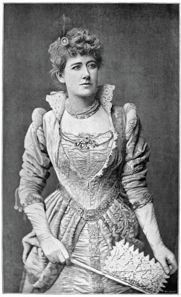Wall Art - Photograph - Ellen Terry (1847-1928) by Granger