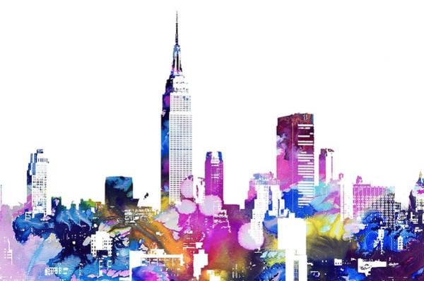 Photograph - New York Skyline by Doc Braham