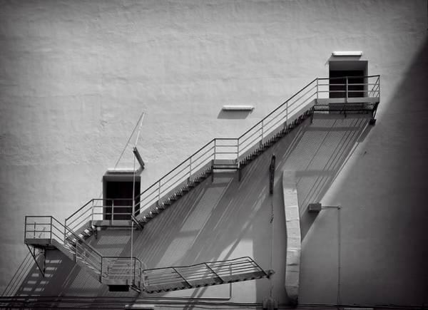 Photograph - Fire Escape by Rudy Umans