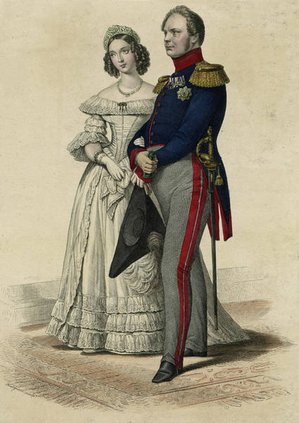 Wall Art - Drawing - Friedrich Wilhelm Iv  King Of Prussia by Mary Evans Picture Library