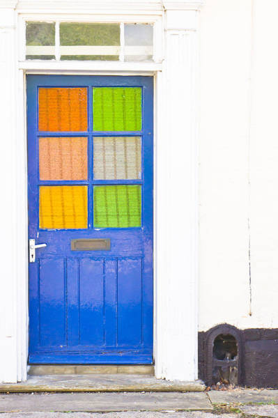 Door Photograph - Front Door by Tom Gowanlock
