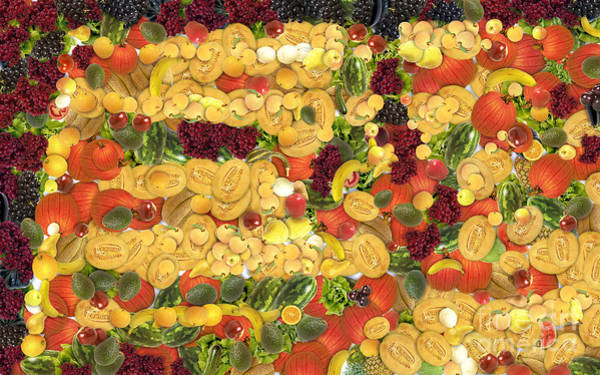 Digital Art - Fruit And Vegetable by Odon Czintos