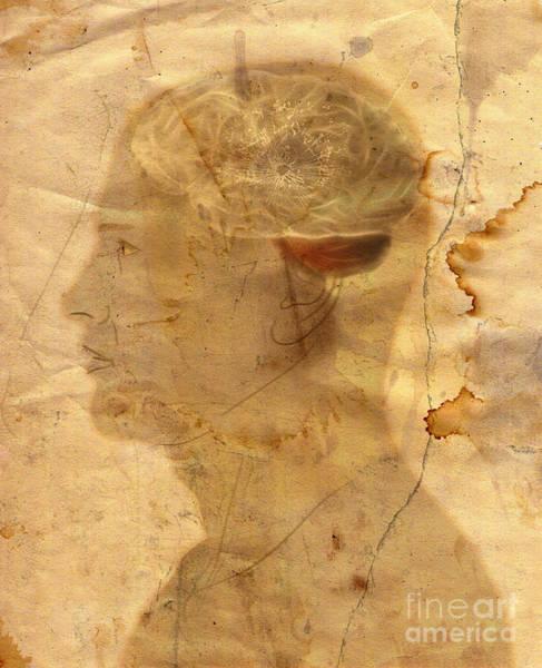 Wall Art - Mixed Media - Gears In The Head by Michal Boubin