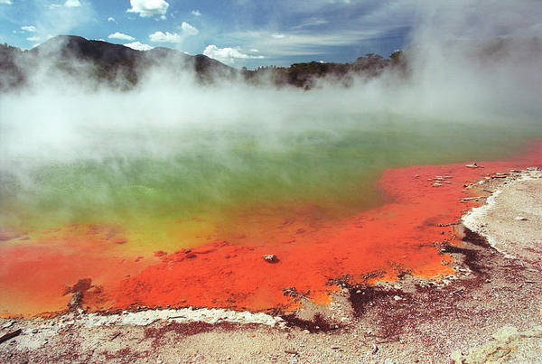 Geothermal Photograph - Geothermal Pool by Zephyr/science Photo Library