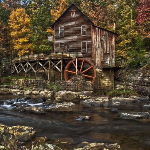Babcock Photograph - Glade Creek Mill by Robert Fawcett
