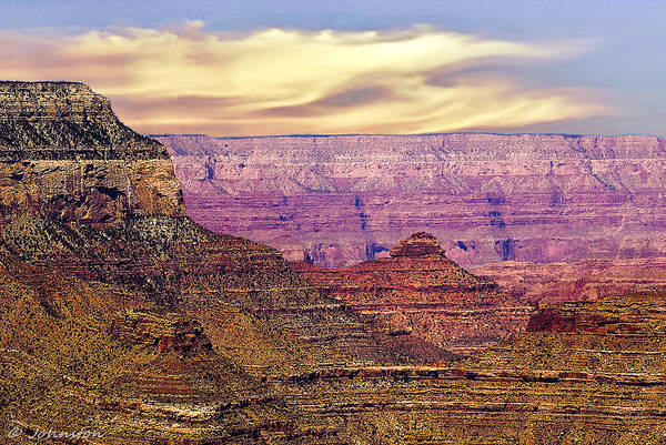 Photograph - Grand Canyon National Park South Rim by Bob and Nadine Johnston