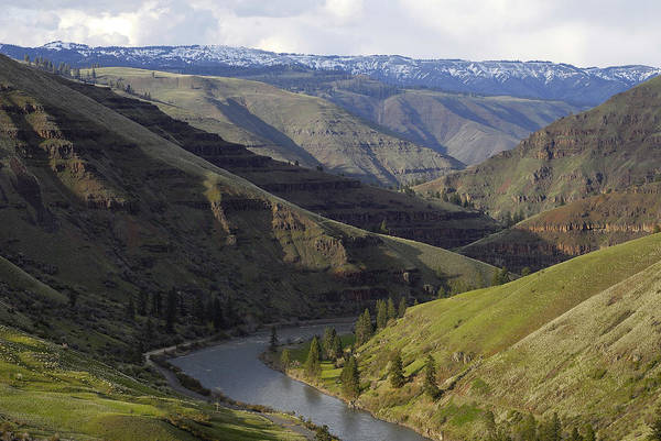 Wall Art - Photograph - Grande Ronde River Canyon Oregon by Theodore Clutter