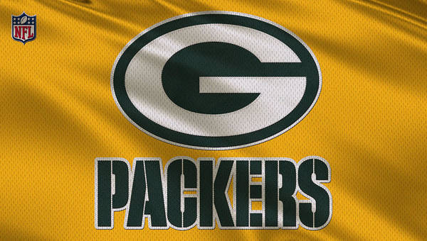 Super Photograph - Green Bay Packers Uniform by Joe Hamilton