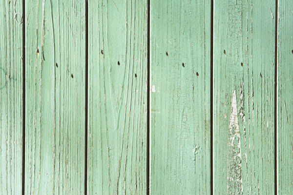 Architectural Details Photograph - Green Wood by Tom Gowanlock