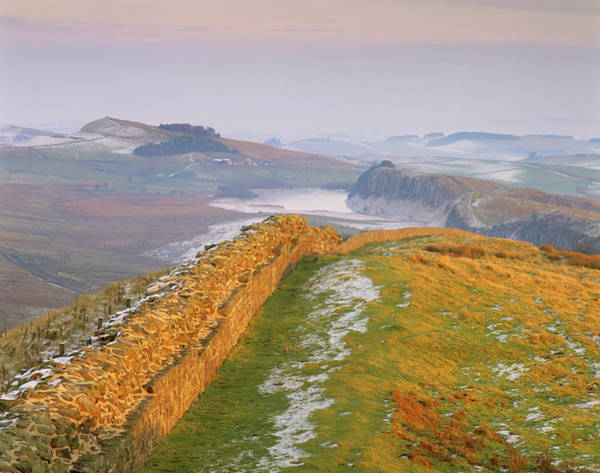 Wall Art - Photograph - Hadrian's Wall by Simon Fraser/science Photo Library