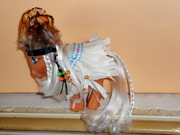 Macau Mixed Media - Handmade Complete Outfit For My Little Pony Jenny  by Donatella Muggianu