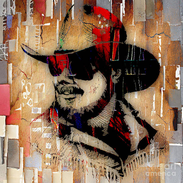 Wall Art - Mixed Media - Hank Williams Jr Collection by Marvin Blaine