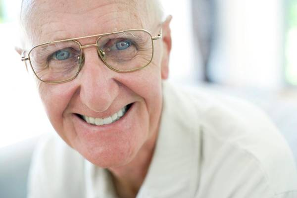 Wall Art - Photograph - Happy Senior Man by Ian Hooton/science Photo Library
