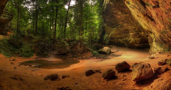 Photograph - Hocking Hills State Park by Walt Sterneman