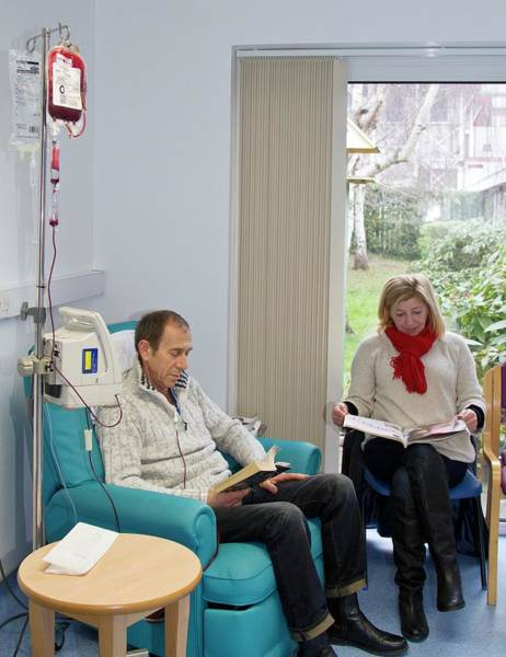Wall Art - Photograph - Hospital Haematology Unit by Life In View/science Photo Library