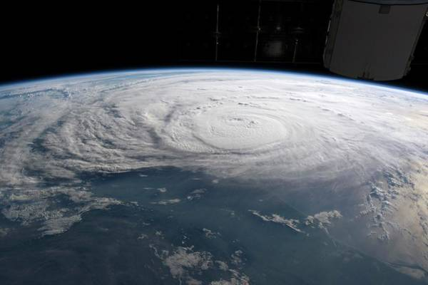 Wall Art - Photograph - Hurricane Harvey From The Iss by Nasa/science Photo Library